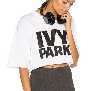 Ivy Park White Crop Top